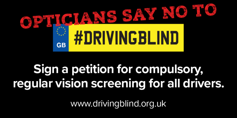 IOA says NO to driving blind