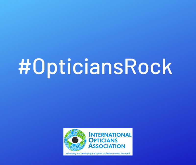 New campaign from the IOA:Opticians Rock #OpticiansRock