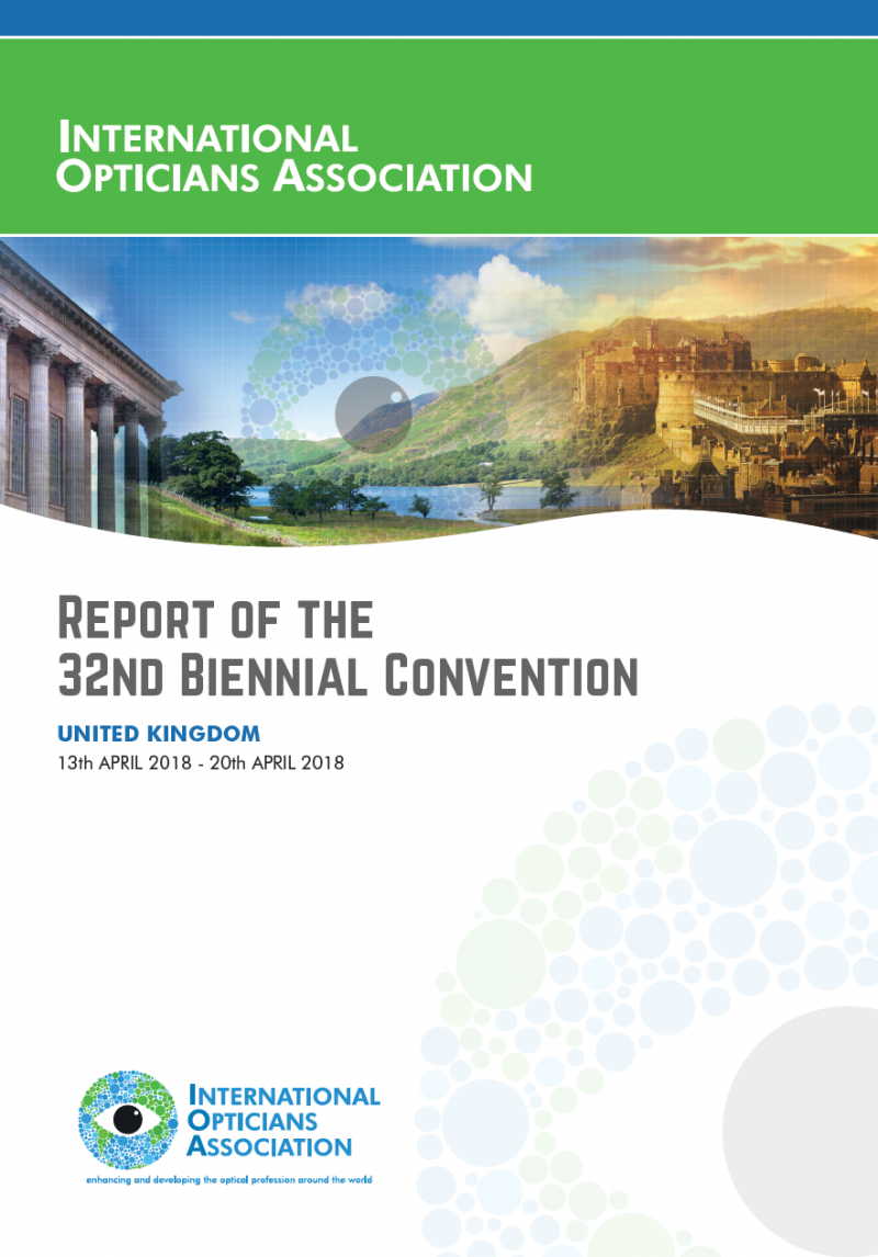 New report available from the International Opticians Association
