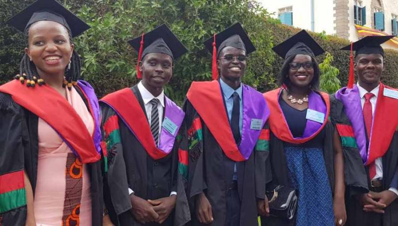 Uganda's first graduation of Optometrists