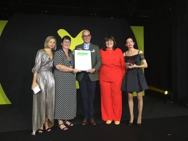 Winner of the 2019 Silmo IOA International Optician of the Year Award