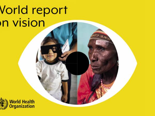 At least 2.2 billion people are blind or visually impaired in the world today