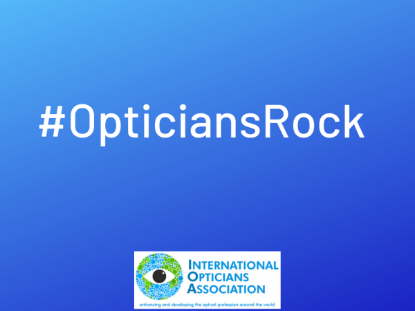 New campaign from the IOA:Opticians Rock #OpticiansRock