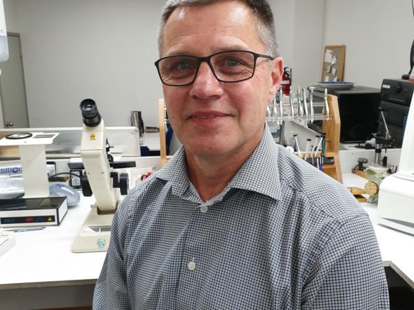 International Optician of the Year Award finalist: Steve Stenersen
