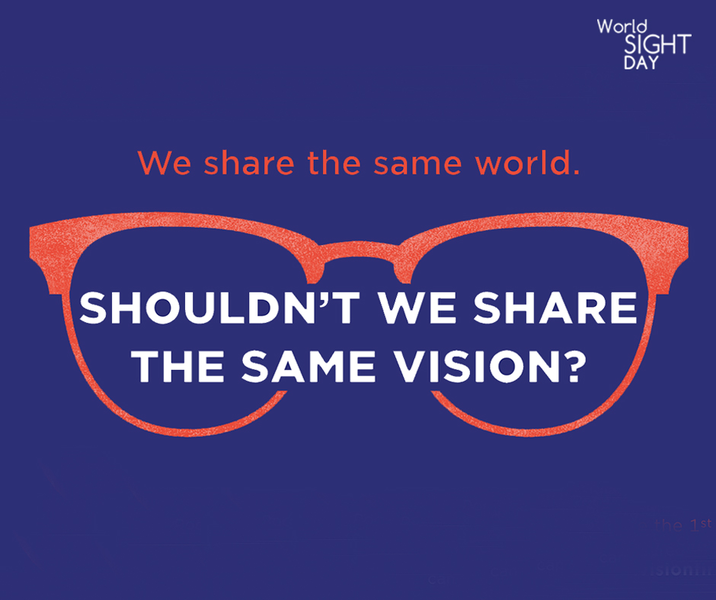 IOA Supports the 'Put Vision First' Initiative on World Sight Day