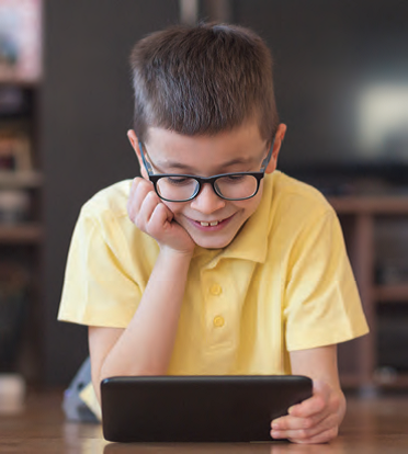 How can time outside influence the development of paediatric myopia?