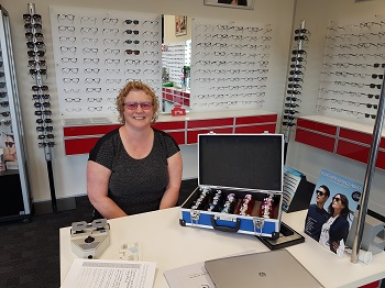 Sarah Bycroft New Zealand Dispensing Optician